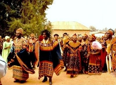 The Fon Festival Cameron Photo Bamenda Cameroon Africa