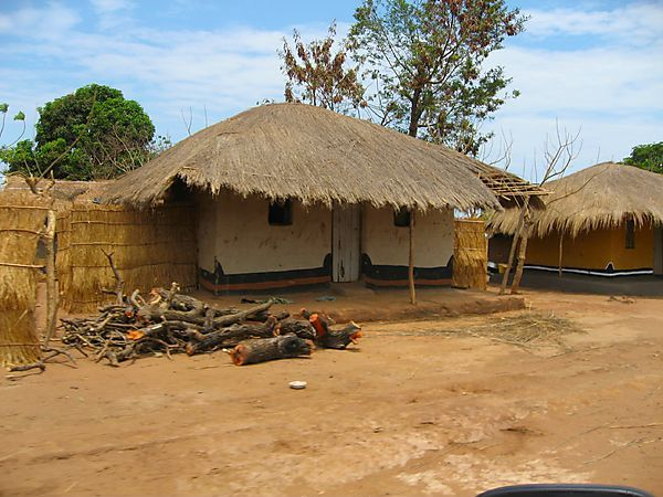 Traditional Malawian House Photo Malawi Africa