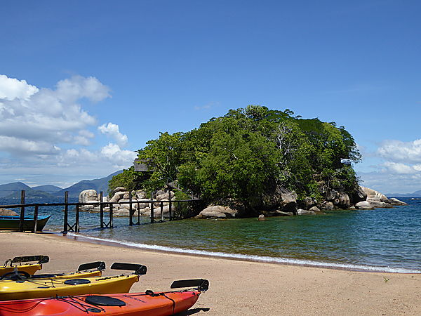 Beach at Mumbo Island