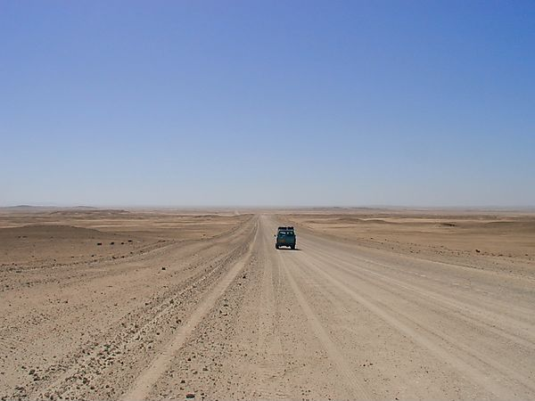 Driving Through Damaraland, Namibia
