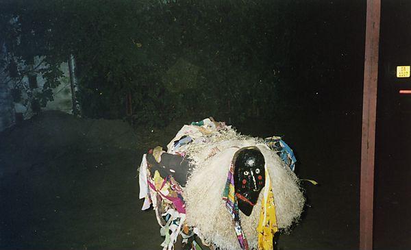 Gule Wamkulu Dancer, Malawi