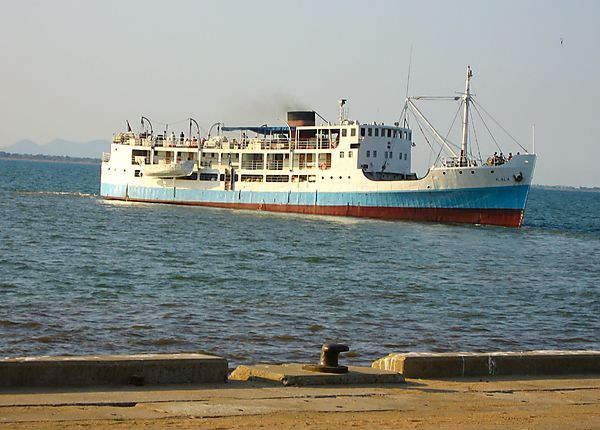 Ilala Boat/ship On Lake Malawi