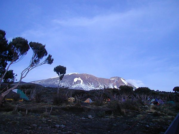 Machame Route, Kilimanjaro Mountain, Tanzania