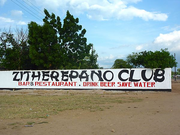 Sign seen in Mangochi