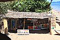 Art shop on the beach