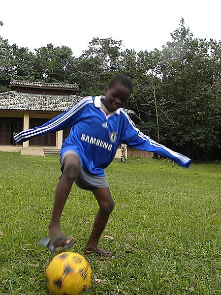 Future Football Phenom At Assin Manso.