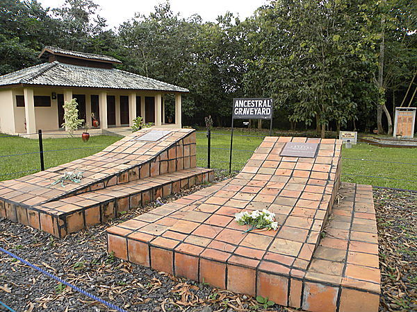The Ancestral Memorial At Assin Manso