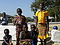 Children Wearing Kente Clothing At Navrongo.