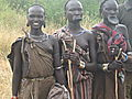 Mursi Girls