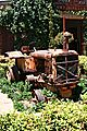Old Tractor Used For Garden Scaping