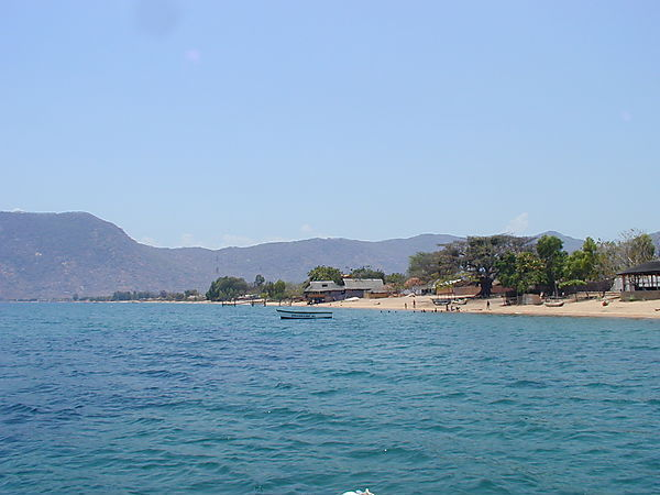 Cape Maclear Beach Scene