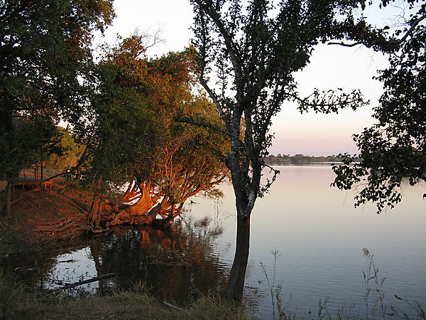 Dusk On The Kafue River