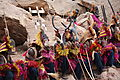 Dogon masque dancers