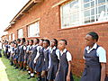 School Children At Megatong School In Soweto