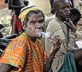 Tamberma man with pipe