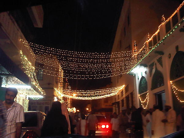 Ramadhan At Night-mombasa