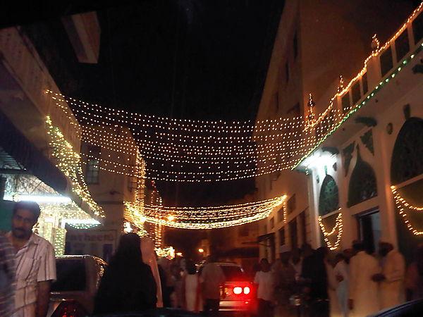 Ramadhan At Night-mombasa