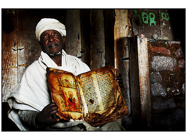 Priest At Debre Mariam