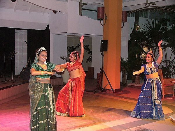 Mauritian Dance Show At Trou Aux Biches Hotel