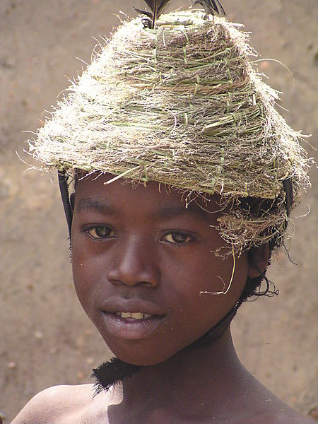 Tamberma Boy In Village Near Kandé.