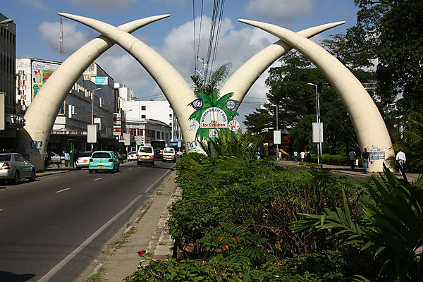 "The ""m"" Of Mombasa."