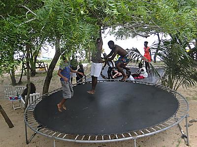 Le Champ Du Lac Togoville Togo Africa