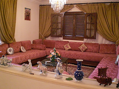 Upscale 2 Level Fully Furnished Apartment In Cairo Cairo