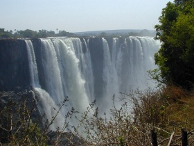 Victoria Falls - View from Zambia Side