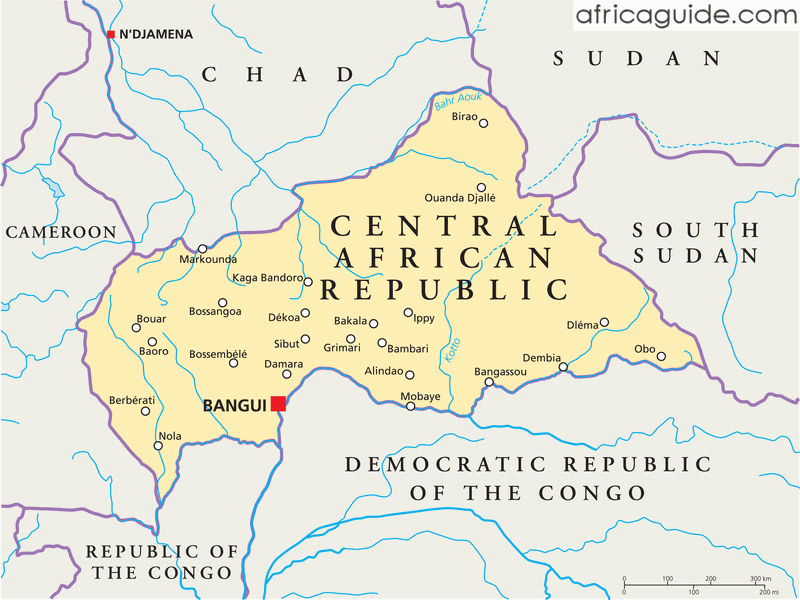 Central African Republic Travel Guide and Country Information