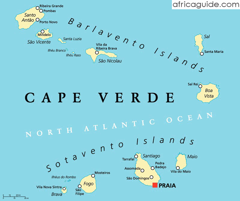 Cape Verde Cabo Verde Travel Guide and Country Information
