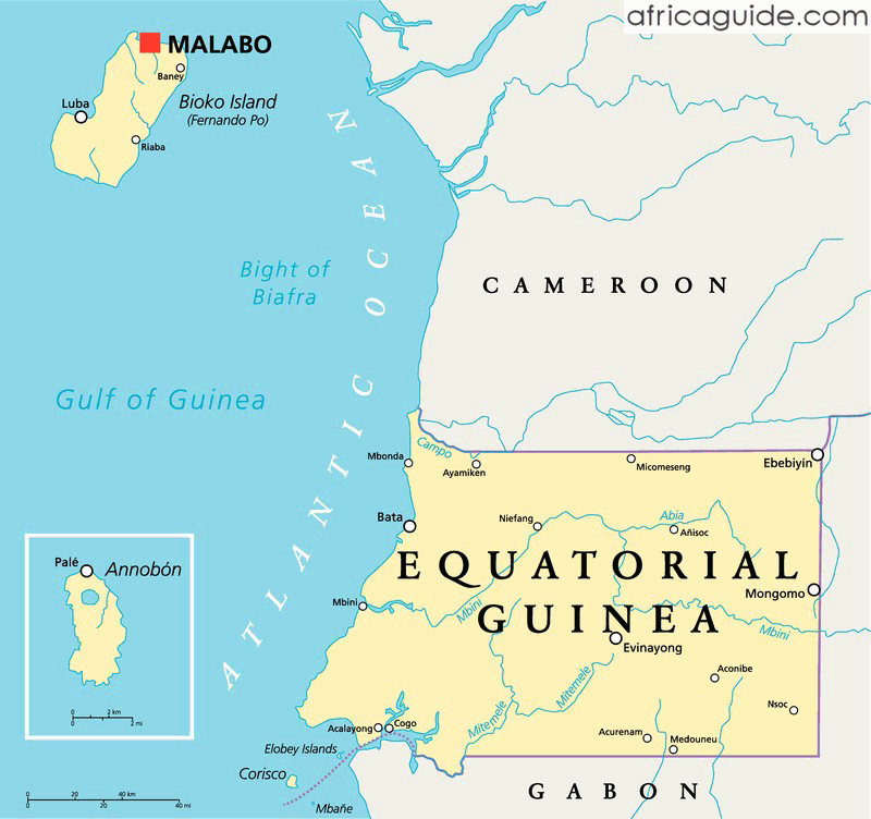 Equatorial Guinea Travel Guide and Country Information