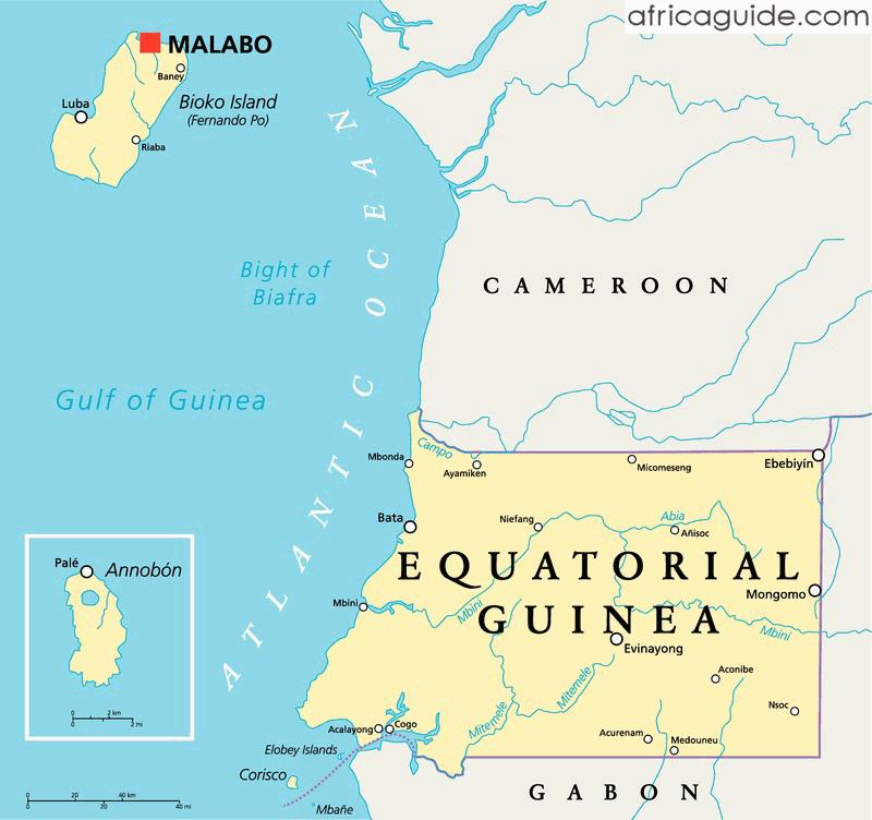 equatorial_guinea_political_map Malabo Equatorial Guinea Map on bioko equatorial guinea map, n'djamena chad map, guinea africa map, equatorial guinea political map, libreville gabon map, malabo people, malabo on map, western sahara map, malabo international airport, malabo africa, equatorial guinea border map, malabo bioko norte, monrovia liberia map, maseru lesotho map, malabo girls, equatorial guinea cities map, guinea conakry map, equatorial guinea on map, equatorial guinea capital map,
