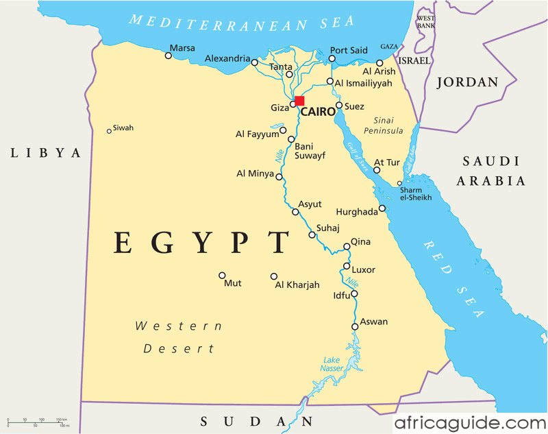 map of egypt political map of egypt physical map of egypt egypt map