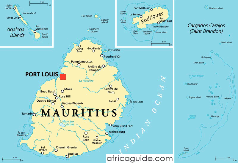 Mauritius guide - Where is port louis mauritius located ...