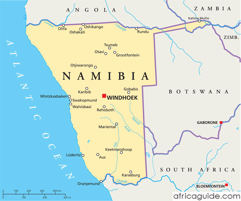 Namibia Botswana And Zambia Tours
