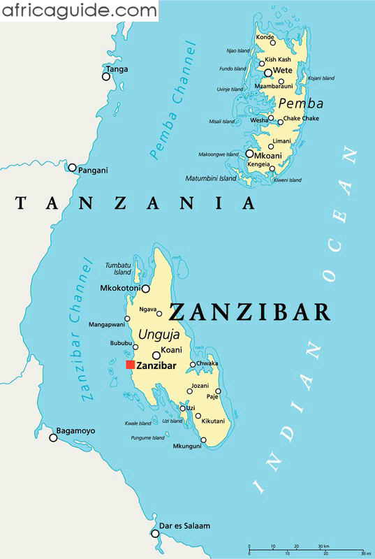 Image result for map of zanzibar city