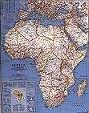 Africa Political Enlarged Laminated Wall Map