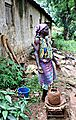 Kabye woman making pots, Kabye Massif region