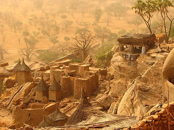 10 Years After, Ireli In Dogon Country.