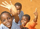 Volunteer at a childcare centre in Mombasa, Kenya