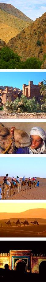 Morocco : Marrakech & Sahara Tour