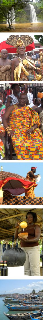 Ghana Cultural History of the Ashantis, Festivals