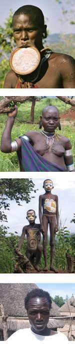 Ethiopia-  Surma and Gambela People