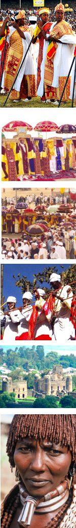 Ethiopia Two major Festivals: Christmas and Timket