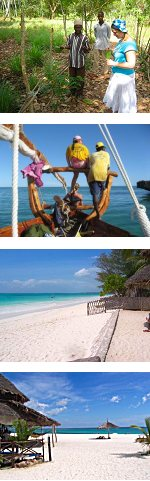 Spice Island, Zanzibar Beach holiday with Excursions