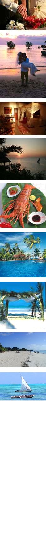 Romantic Getaway & Classic Weddings - Zanzibar