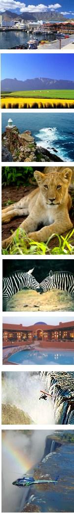 Cape Town, Kruger Park Safari & Victoria Falls