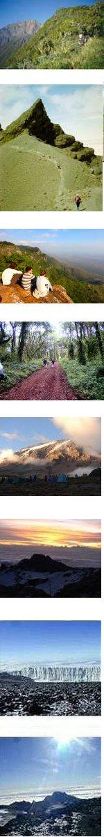 Mount Meru and Mt Kilimanjaro Climb Lemosho Route