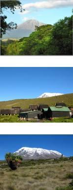Mount Meru and Mt Kilimanjaro Climb Marangu Route
