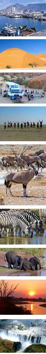 Desert Tracker - Cape Town to Victoria Falls
